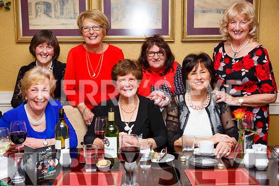 Celebrating Womens Little Christmas in the Brogue Inn on Saturday night last, Bridie Sweeney (Ardfert), Helena O&rsquo;Halloran (Tralee) and Madeline Kelly (Tralee).<br /> Back l-r, Mary O&rsquo;Shea (Tralee), Theresa Nolan (Tralee), Ann O&rsquo;Connor (Tralee) and Mary Sharp (Tralee).