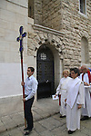 Israel, Jerusalem Old City,Reformation Day at the Lutheran Church of the Redeemer