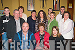 8805-8809.---------.Nifty Fifty.-----------.Mary Larkin(seated centre)from Athea Co Limerick celebrated her 50th birthday last Saturday night in the Gables pub Athea,also seated were L-R Liam and Margaret Larkin(back)L-R Liam Larkin Jnr,Tim Keenan,Ann marie O Brien,Mauraid Jones,Trecia and Tin Sexton,Breda keenan,James Larkin and Trecia O Halloran.