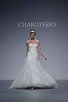04.05.2012. A model presents brides and party designs of Charo Peres at the Cibeles Madrid Novias in Ifema (Alterphotos/Marta Gonzalez)