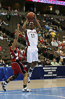 18 March 2006: Candice Wiggins during Stanford's 72-45 win over Southeast Missouri State in the first round of the NCAA Women's Basketball championships at the Pepsi Center in Denver, CO.