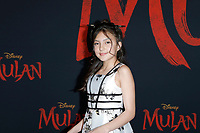 """LOS ANGELES - MAR 9:  Elle Paris Legaspi at the """"Mulan"""" Premiere at the Dolby Theater on March 9, 2020 in Los Angeles, CA"""