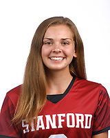 STANFORD, CA - August 16, 2019: Isabelle Pilson on Field Hockey Photo Day.
