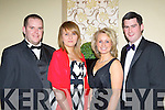 Rodney Atkinson, Marie Casey, Elsa Droog and Johnaton Grimes Killarney counting down to the new year at the New Years Eve ball in the Malton Hotel Killarney on Saturday night..