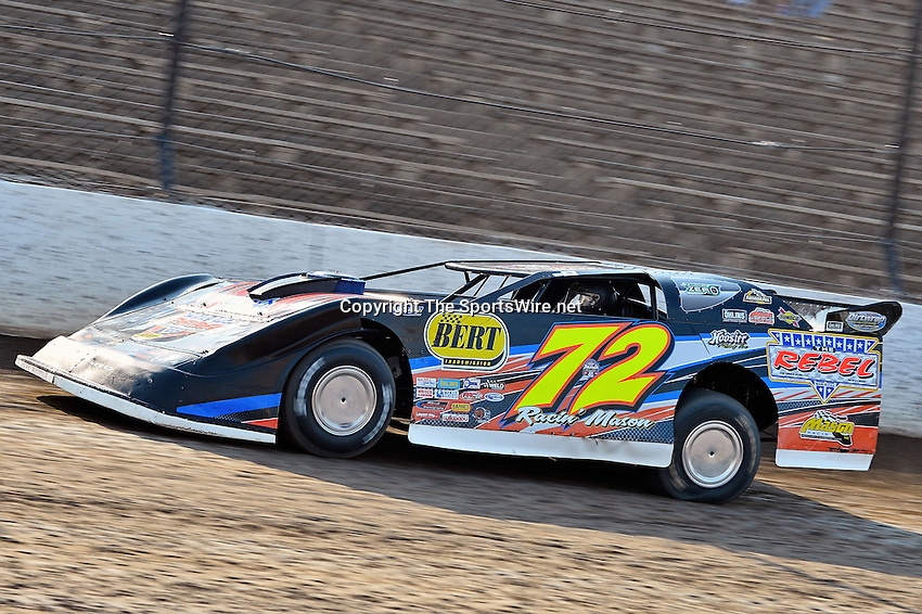 Jun 6, 2013; 6:05:21 PM; Rossburg, OH., USA; The 19th annual Dirt Late Model Dream XIX in an expanded format for Eldora's $100,000-to-win race includes two nights of double features, 567 laps of action  Mandatory Credit:(thesportswire.net)