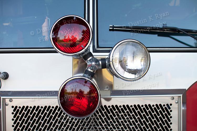 Fire Trucks Red lights SCFA fire academy Mack pierce