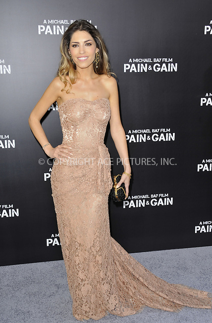 WWW.ACEPIXS.COM....April 22 2013, LA....Yooante Cabau arriving at the 'Pain & Gain' premiere held at TCL Chinese Theatre on April 22, 2013 in Hollywood, California. ....By Line: Peter West/ACE Pictures......ACE Pictures, Inc...tel: 646 769 0430..Email: info@acepixs.com..www.acepixs.com