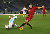 1st December 2017, Stadio Olimpico, Rome, Italy; Serie A football. AS Roma versus Spal;  KEVIN STROOTMAN Roma