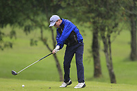 Evan Monaghan (Tullamore) during the Connacht U14 Boys Amateur Open, Ballinasloe Golf Club, Ballinasloe, Galway,  Ireland. 10/07/2019<br /> Picture: Golffile | Fran Caffrey<br /> <br /> <br /> All photo usage must carry mandatory copyright credit (© Golffile | Fran Caffrey)