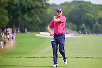 Justin Thomas (USA) approaches the 10th tee during Sunday's final round of the PGA Championship at the Quail Hollow Club in Charlotte, North Carolina. 8/13/2017.<br /> Picture: Golffile | Ken Murray<br /> <br /> <br /> All photo usage must carry mandatory copyright credit (&copy; Golffile | Ken Murray)