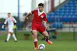 09 January 2015: Connor Hallisey (California). The 2015 MLS Player Combine was held on the cricket oval at Central Broward Regional Park in Lauderhill, Florida.