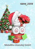 Roger, CHRISTMAS ANIMALS, WEIHNACHTEN TIERE, NAVIDAD ANIMALES, paintings+++++,GBRM2208,#xa#