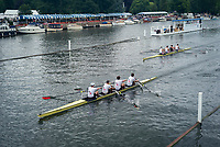 Henley Royal Regatta, Henley on Thames, Oxfordshire, 28 June - 2 July 2017.  Thursday  18:12:23   29/06/2017  [Mandatory Credit/Intersport Images]<br /> <br /> Rowing, Henley Reach, Henley Royal Regatta.<br /> <br /> The Visitors' Challenge Cup<br />  California Rowing Club, U.S.A. v  Leander Club and Thames Rowing Club