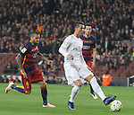 02.04.2016 Barcelona. La Liga day 31. Game between FC Barcelona agaisnt Real Madrid at Camp Nou. Picture show Cristiano Ronaldo