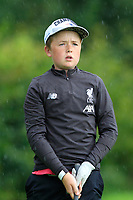 Aaron Quigley (Castlebar) on the 1st tee during the Connacht U12, U14, U16, U18 Close Finals 2019 in Mountbellew Golf Club, Mountbellew, Co. Galway on Monday 12th August 2019.<br /> <br /> Picture:  Thos Caffrey / www.golffile.ie<br /> <br /> All photos usage must carry mandatory copyright credit (© Golffile | Thos Caffrey)