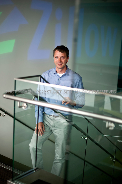 9/15/2011--Seattle, WA, USA..Stan Humphries, Zillow.com's chief economist, posing at the company's Seattle headquarters...©2011 Stuart Isett. All rights reserved.