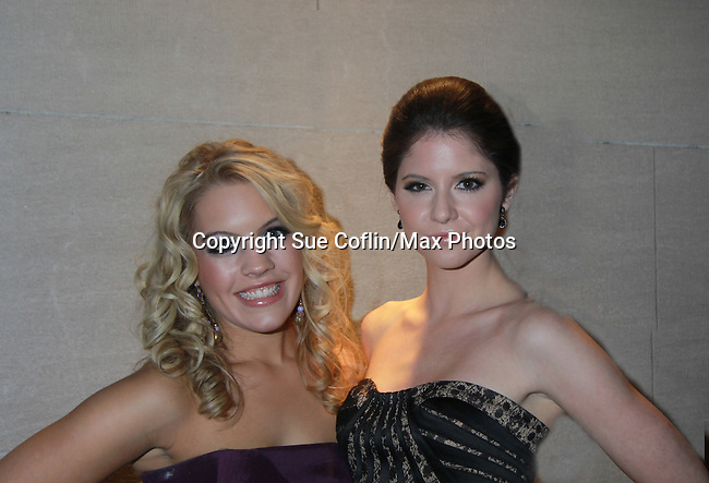 Kristen Alderson & Brittany Underwood - Actors, crew, production, family come to One Life To Live's wrap party and video tribute on November 18, 2011 at Capitale, New York City, New York.  (Photo by Sue Coflin/Max Photos)