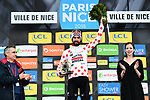 Thomas De Gendt (BEL) Lotto-Soudal wins the mountains Polka Dot Jersey at the end of Stage 8 of the 2018 Paris-Nice running 110km from Nice to Nice, France. 11th March 2018.<br /> Picture: ASO/Alex Broadway | Cyclefile<br /> <br /> <br /> All photos usage must carry mandatory copyright credit (&copy; Cyclefile | ASO/Alex Broadway)