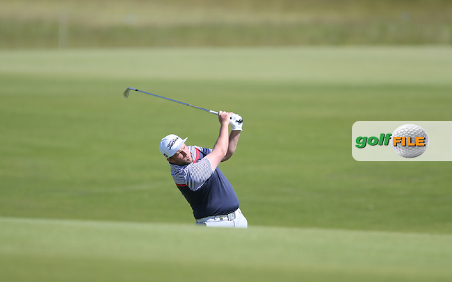 Andrew Johnston (ENG) playing second shot to the 8th during Round Two of the 2015 Nordea Masters at the PGA Sweden National, Bara, Malmo, Sweden. 05/06/2015. Picture David Lloyd | www.golffile.ie