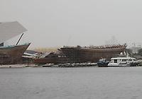 General Views of the Obeid Juma Bin Suloom Shipyard, Dubai, United Arab Emirates from Festival City on 2.4.19.