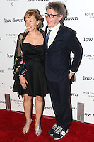 HOLLYWOOD, LOS ANGELES, CA, USA - OCTOBER 23: Amy-Jo Albany, Jeff Preiss arrives at the Los Angeles Premiere Of Oscilloscope Laboratories' 'Lowdown' held at ArcLight Hollywood on October 23, 2014 in Hollywood, Los Angeles, California, United States. (Photo by Celebrity Monitor)