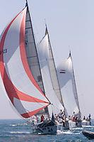 DTI INMOBILIARIA  . E.V.PALOS  .Agustín Orozco  .Sun Fast 40.3 .II Campeonato del Mundo de Vela IMS670 - Agosto 2006 - Real Club Náutico de El Puerto de Santa María