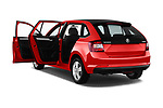 Car images close up view of a 2018 Skoda Rapid Spaceback Ambition 5 Door Hatchback doors