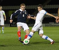 Scotland v Slovakia Under 21's 101013