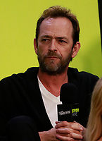 NEW YORK, NY - OCTOBER 7: Luke Perry at  SYFY WIRE's Fangirls: Riverdale Cast Interview at the Jacob Jackets Center at the 2018 New York Comic Con in New York City on October 7, 2018. <br /> CAP/MPI99<br /> &copy;MPI99/Capital Pictures