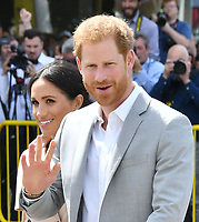 JUL 17 Prince Harry and Meghan The Duchess of Sussex visit Nelson Mandela exhibition, London