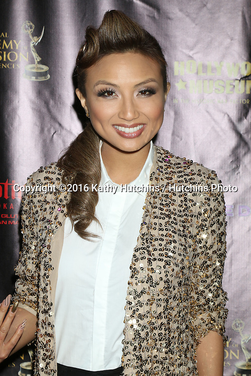 LOS ANGELES - APR 27:  Jeannie Mai at the 2016 Daytime EMMY Awards Nominees Reception at the Hollywood Museum on April 27, 2016 in Los Angeles, CA