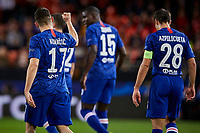 27th November 2019; Mestalla, Valencia, Spain; UEFA Champions League Footballl,Valencia versus Chelsea; Mateo Kovacic of Chelsea celebrates  after scoring the equalizer goal for his team (1-1) in minute 41' - Editorial Use