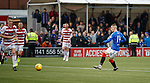 24.11.2019: Hamilton v Rangers: Ryan Kent scores his second and Rangers third goal of the match