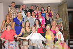 DFOUBLE: Double 25th birthdays for Charlotte Blake and Lorna Power as they celebrated their 25th Birthday in the Abbey Inn Tralee on Saturday night. Charlotte is seated 2nd fropm left and Lorna 3rd from left.....