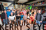 Peter Hawkins from Hawley Park, Tralee celebrating his 18th Birthday with family and friends at Turners Pub on Saturday