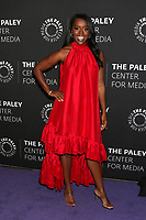 """LOS ANGELES - NOV 19:  Aja Naomi King at the  """"How To Get Away With Murder"""" Final Season Celebration at Paley Center for Media on November 19, 2019 in Beverly Hills, CA"""