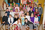 FUN TIME: The students of Ms. Burke's 2nd class enjoying a fun time at their school play in Balloonagh NS on Thursday.