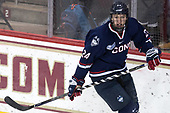 Benjamin Freeman (UConn - 24) - The Boston College Eagles defeated the visiting UConn Huskies 2-1 on Tuesday, January 24, 2017, at Kelley Rink in Conte Forum in Chestnut Hill, Massachusetts.