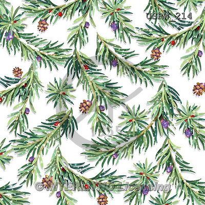 Randy, GIFT WRAPS, GESCHENKPAPIER, PAPEL DE REGALO, paintings+++++Wintering-Birds-Pine-Pattern-on-White,USRW214,#GP# Christmas napkins