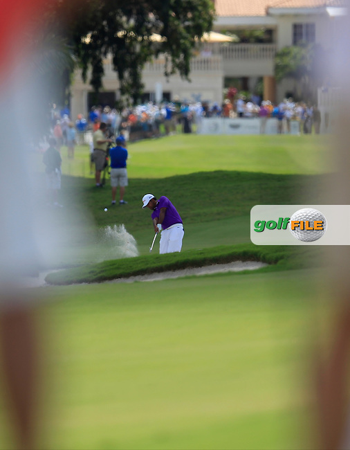 Anirban Lahiri (IND) during the 2nd round at the WGC Cadillac Championship, Blue Monster, Trump National Doral, Doral, Florida, USA<br /> Picture: Fran Caffrey / Golffile