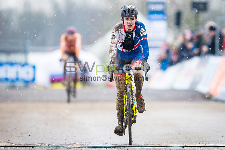 Picture by Alex Whitehead/SWpix.com - 04/02/2018 - Cycling - 2018 UCI Cycle Cross World Championships - Valkenburg, The Netherlands -  Under 23 U23 Men