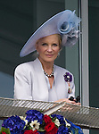 """PRINCESS MICHAEL OF KENT.watches the Epsom Derby.The Queen was joined at the Derby the signalled the start of her Diamond Jubilee Celebrations by,The Duke of Edinburgh, Prince Andrew, Princess Beatrice, Princess Eugenie, Prince Edward, Sophie,Countess of Wessex, Prince Michael and Princess Michael of Kent_02/06/2012.Mandatory credit photo: ©Dias/NEWSPIX INTERNATIONAL..(Failure to credit will incur a surcharge of 100% of reproduction fees)..                **ALL FEES PAYABLE TO: """"NEWSPIX INTERNATIONAL""""**..IMMEDIATE CONFIRMATION OF USAGE REQUIRED:.DiasImages, 31a Chinnery Hill, Bishop's Stortford, ENGLAND CM23 3PS.Tel:+441279 324672  ; Fax: +441279656877.Mobile:  07775681153.e-mail: info@newspixinternational.co.uk"""