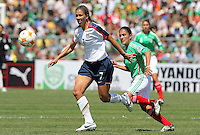 Shannon Boxx goes for the ball during the USA vs Mexico's Group A 2008 CONCACAF Olympic Women's Qualifying Tournament  in Ciudad Juarez, Mexico, April 6, 2008.
