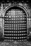 Main door, Church and Convent of San Agustin (16th Century) / Quito,Ecuador. 2007<br />