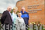 Pictured at the Tralee Community Hospital on Wednesday were Tim Guiheen, Mairead Fernane, Joan O'Malley, and John Rowan.