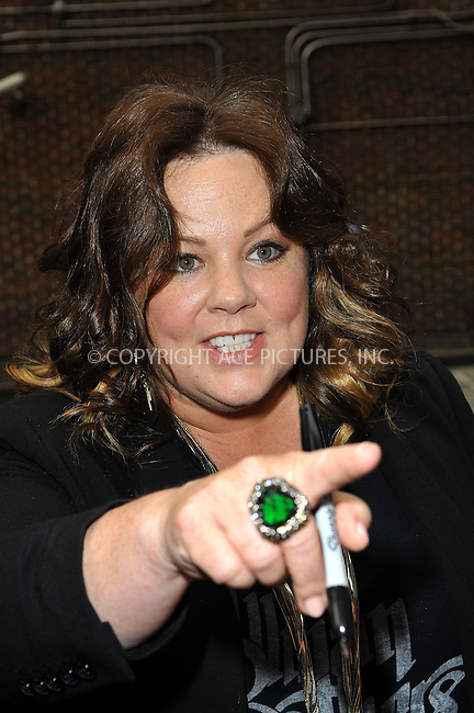 WWW.ACEPIXS.COM<br /> <br /> June 24 2013, New York City<br /> <br /> Melissa McCarthy made an appearance at the Late Show with David Letterman on June 24 2013 in New York City<br /> <br /> By Line: Romeo/ACE Pictures<br /> <br /> <br /> ACE Pictures, Inc.<br /> tel: 646 769 0430<br /> Email: info@acepixs.com<br /> www.acepixs.com