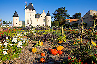 Rivau Castle and gardens      Loire Valley, France     UNESCO Heritage Site   15th Century