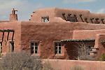 Painted Desert Inn, National Historic Landmark, CCC built, Petrified Forest National Park, Arizona, desert landscape, Southwest, United States, USA,