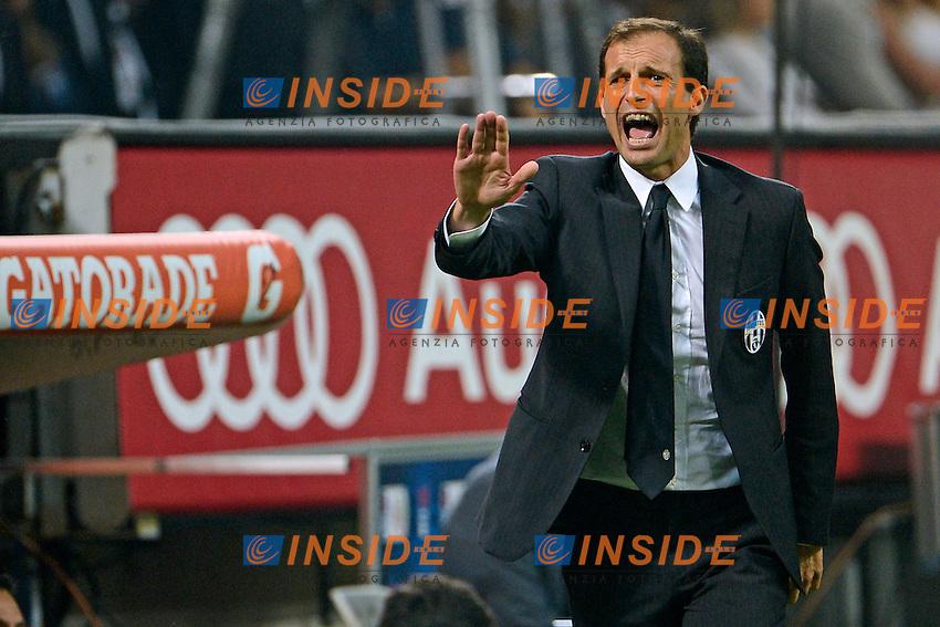 Massimiliano Allegri Juventus<br /> Milano 20-09-2014 Stadio Giuseppe Meazza - Football Calcio Serie A Milan - Juventus. Foto Giuseppe Celeste / Insidefoto