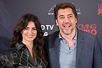 Spanish actress Penelope Cruz and spanish actor Javier Bardem attends to presentation of film 'Loving Pablo' in Madrid , Spain. March 06, 2018. (ALTERPHOTOS/Borja B.Hojas)